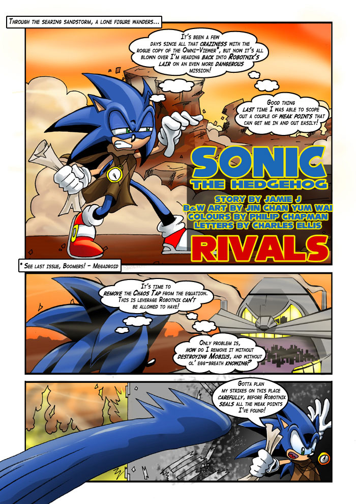 sonic the comic online