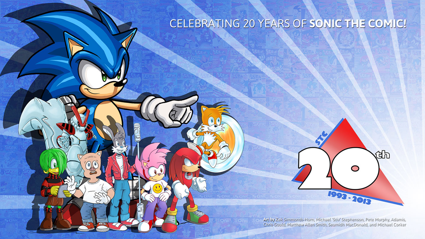 Sonic The Comic 261 Wallpapers