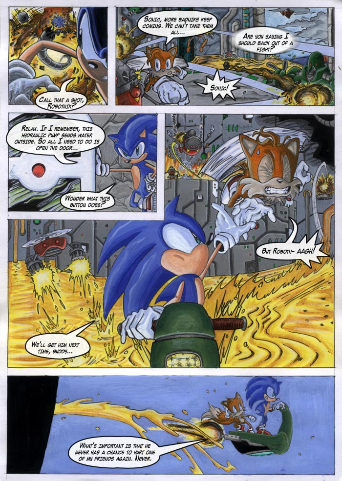 STC #229 | Sonic the Comic Online!