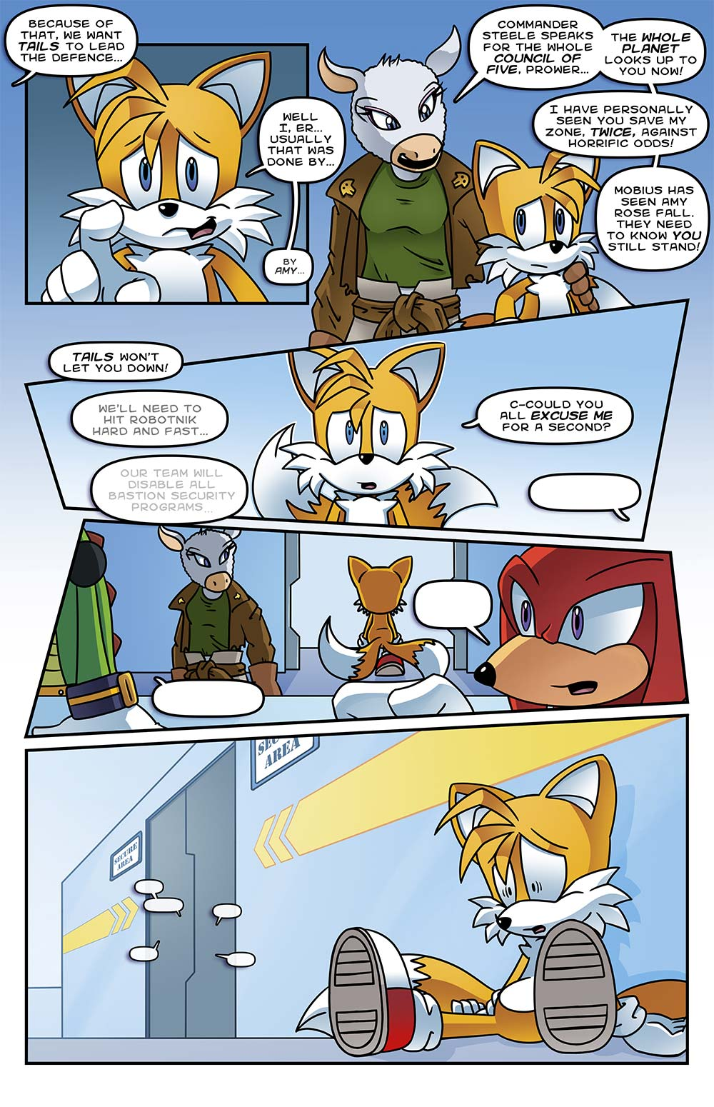 Stc 271 Sonic The Comic Online