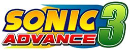 Sonic Advance 3 Logo